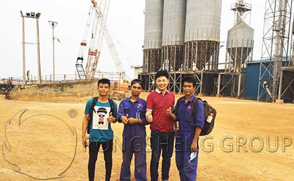 Indonesia Fluidized Bed Boiler Project